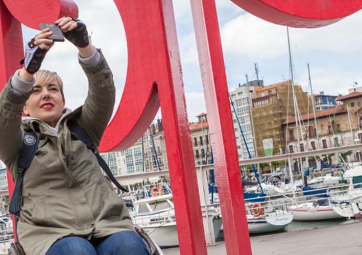 Un día disfrutando del Gijón/Xixón urbano accesible