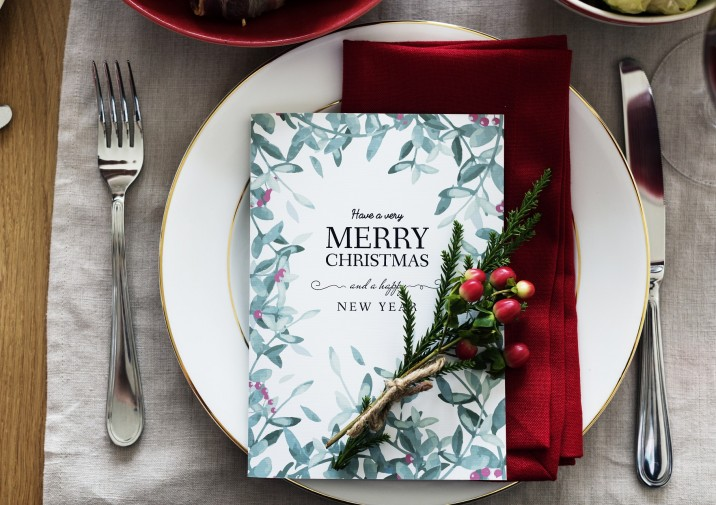 Menús especiales para el día de Navidad