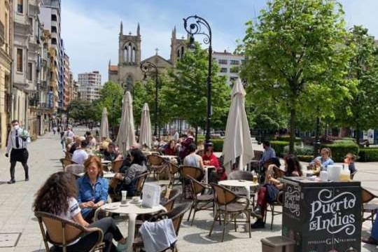 Resolución de Alcaldía sobre terrazas de hostelería