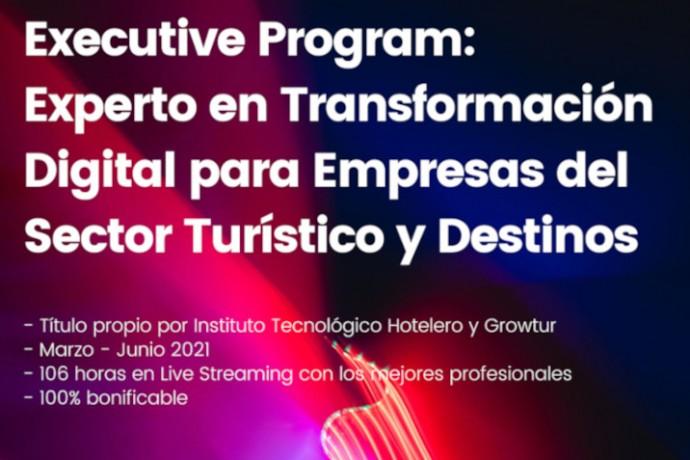 Programa de Transformación Digital para empresas del sector turístico