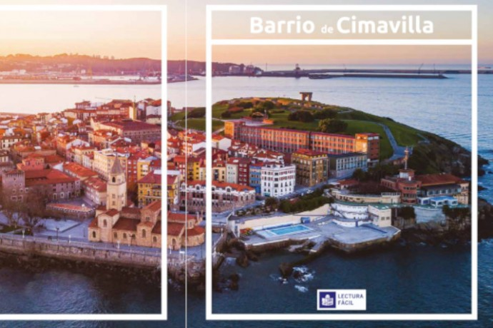 """Nuevo folleto """"El Barrio de Cimavilla"""" editado en lectura fácil"""