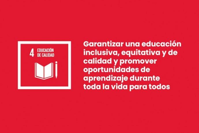 ODS4: Educación de calidad